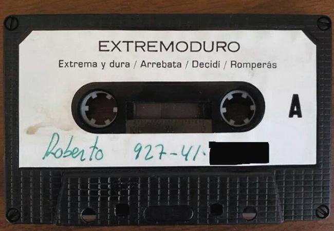 Otra cinta de 'Rock Transgresivo' - Extremoduro (1989)