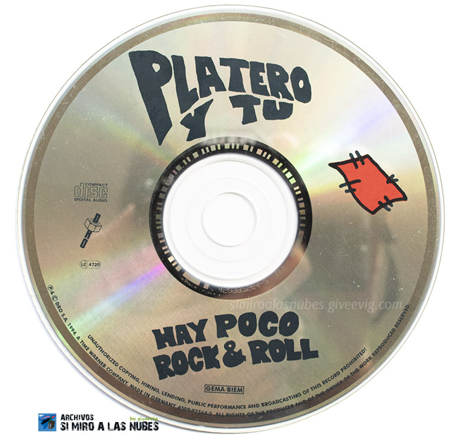 Platero y Tú - 'Hay Poco R&R' (1994)