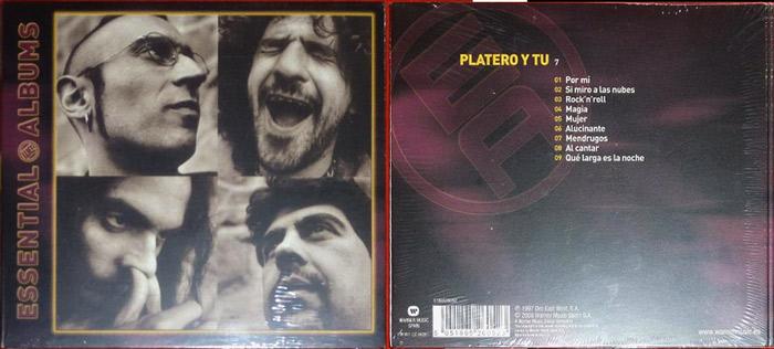 Edición digipack del '7' de Platero y Tú (2008)