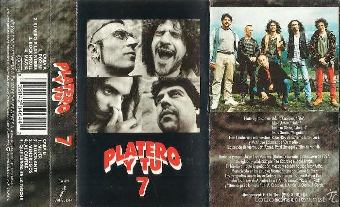 Foto de la cinta de Platero y Tú 7' (1997)