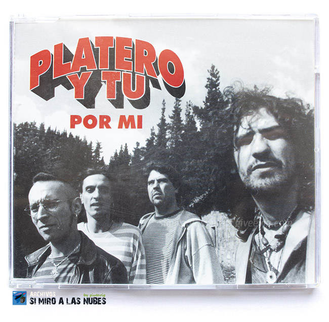Single 'Por Mí' de Platero y Tú año 1997 frontal