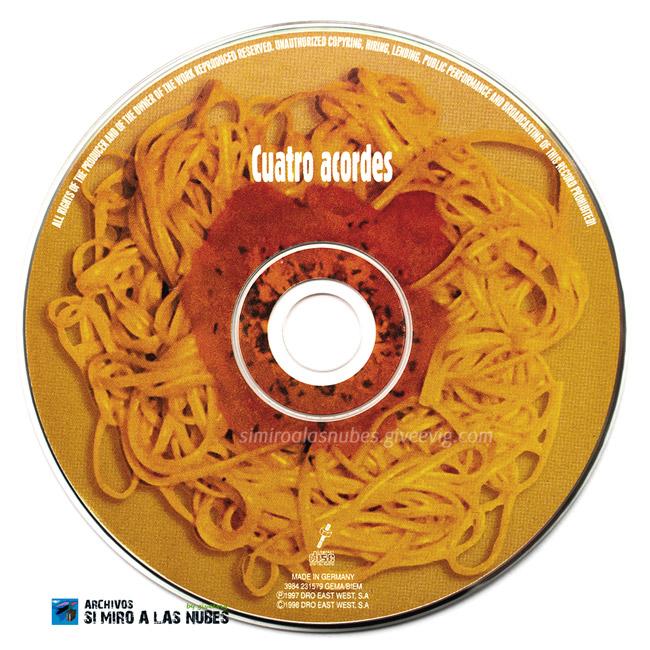 Single-Cuatro-Acordes-Flying-Rebollos-1998-CD