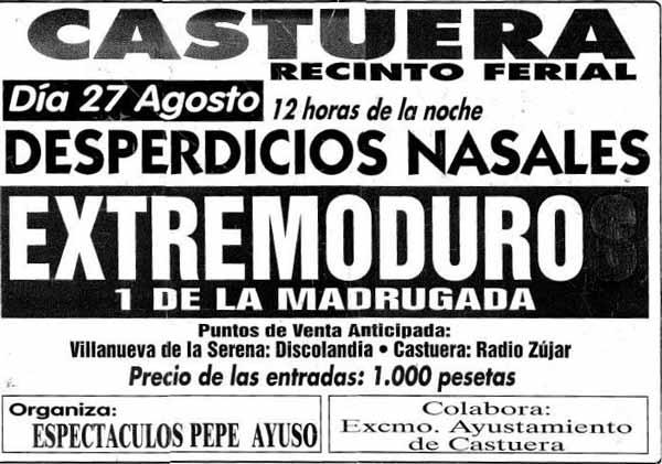 Entrada-Extremoduro-año-1994-08-27-Castuera-Badajoz