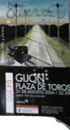 Entrada-Extremoduro-año-2004-08-21-Plaza-de-toros-de-Gijon