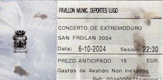 Entrada-Extremoduro-año-2004-10-06-San-Froilan-Lugo