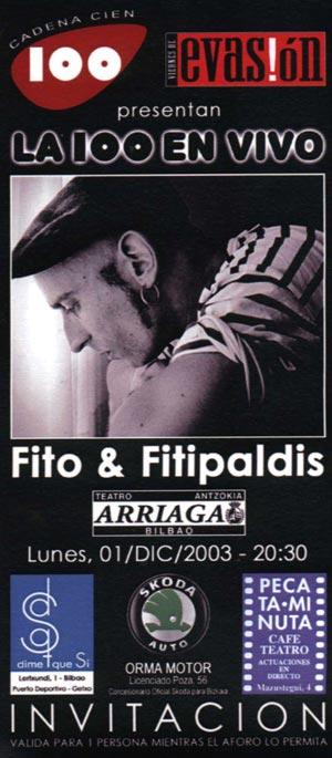 Entrada-Fito-Fitipaldis-año-2003-12-01-Teatro-Arriaga-Bilbao