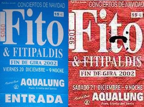Entrada-Fito-Fitipaldis-fin-de-gira-año-2002-12-20-21-sala-Aqualung-Madrid
