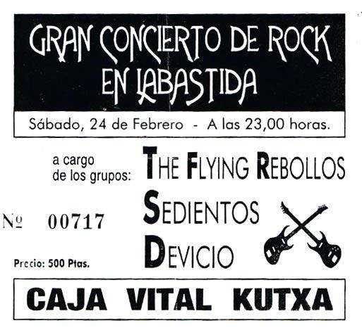Entrada-Flying-Rebollos-y-Sedientos-año-1990-02-24-Labastida-Araba