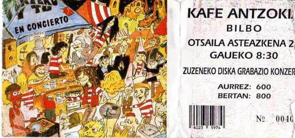 Entrada-Platero-y-Tu-año-1996-02-28-29-grabacion-A-Pelo-Kafe-Antzokia-Bilbao