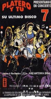 Entrada-Platero-y-Tu-año-1997-11-06-Kafe-Antzoki-Bilbao
