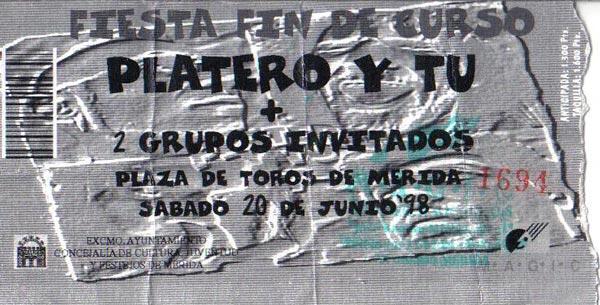 Entrada-Platero-y-Tu-año-1998-06-20-Plaza-de-toros-Merida