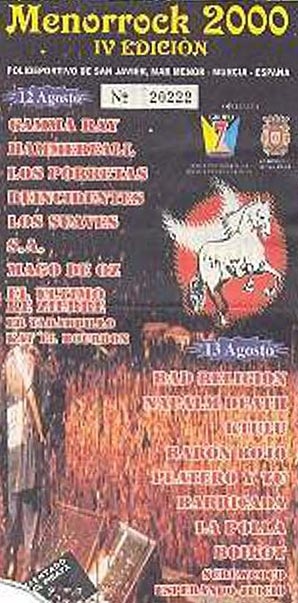 Entrada-Platero-y-Tu-año-2000-08-13-IV-Menorock-Murcia