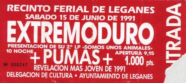 entrada-extremoduro-año-1991-06-15-leganes