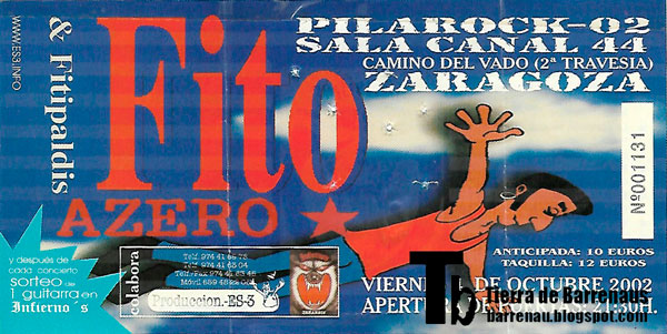 Entrada-Fito-Fitipaldis-año-2002-10-04-sala-canal-44-pilarock-zaragoza