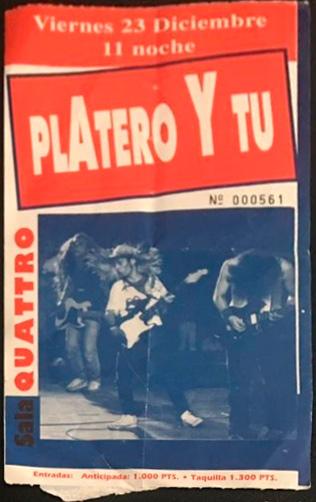 Entrada-Platero-y-Tu-año-1994-12-23-sala-quattro-aviles