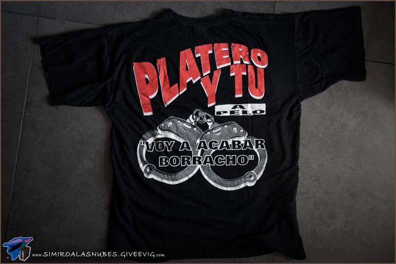 Camiseta Platero y Tú A Pelo año 1996