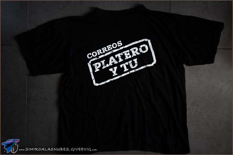 Camiseta Platero y Tú Correos año 2000