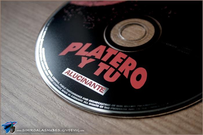 Single 'Alucinante' de Platero y Tú año 1997 - detalle