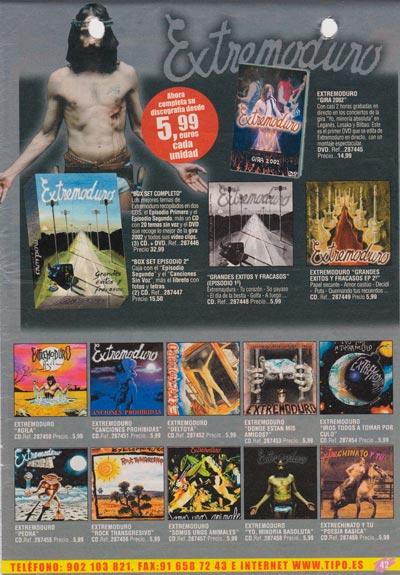 2004-11-catalogo-tipo-discografia-Extremoduro