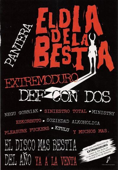 Cartel-El-dia-de-la-bestia-anuncio-publicacion-año-1995