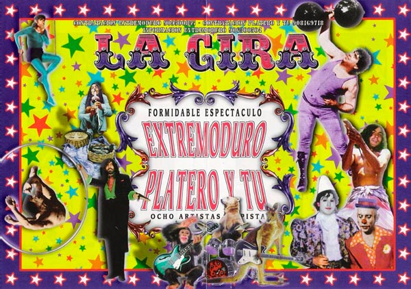Cartel-Extremoduro-y-Platero-y-Tú-año-1996-gira-conjunta