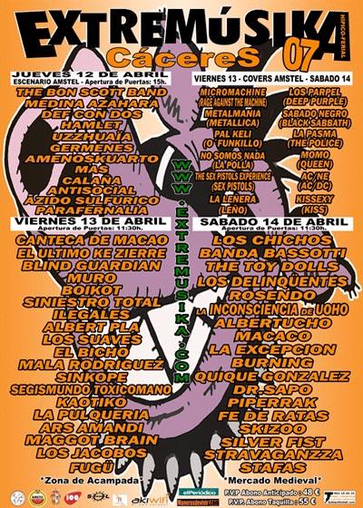 Cartel-Extremusika-07-con-Inconscientes-año-2007-04-14-Caceres