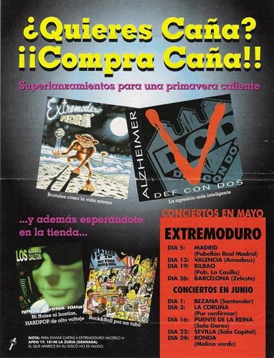 Cartel-Pedrá-y-Platero-anuncio-publicacion-año-1995-mayo