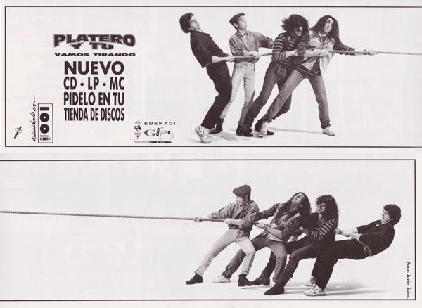 Cartel-Platero-y-Tu-año-1993-Mayo-anuncio-Vamos-Tirando