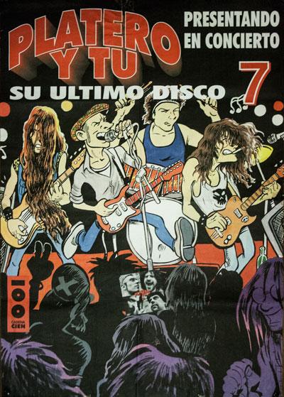 Cartel-Platero-y-Tu-año-1997-anuncio-de-concierto-en-Madrid-presentando-7