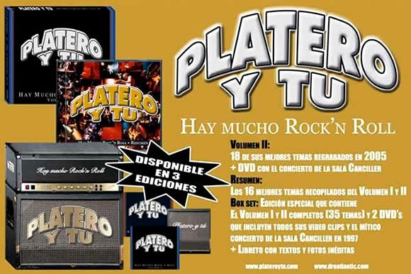 Cartel-Platero-y-Tu-año-2005-Diciembre-anuncio-Hay-mucho-rock-and-roll-Box-Set-pequeño