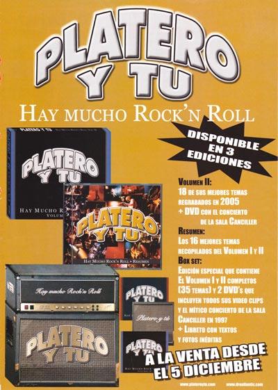 Cartel-Platero-y-Tu-año-2005-Diciembre-anuncio-Hay-mucho-rock-and-roll-Box-Set