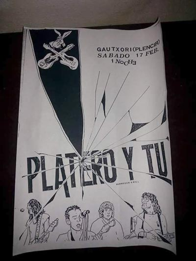 Cartel-Platero-y-Tu-primer-concierto-gautxori-plentzia-año-1991-02-17-sabado