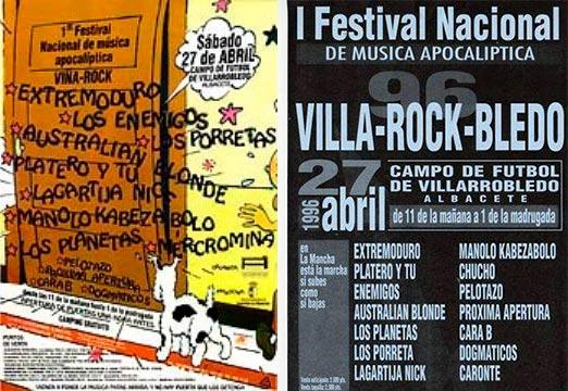 Entrada-Extremoduro-y-Platero-y-Tu-año-1996-04-27-primera-edicion-de-ViñaRock