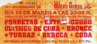 Entrada-Extremoduro-año-1994-03-18-el-huevo-gordo-barcelona