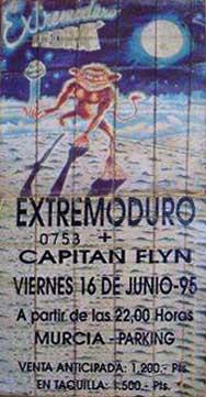 Entrada-Extremoduro-año-1995-06-16-Parking-Murcia