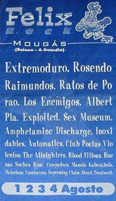 Entrada-ExtremoduroBuenas-Noches-Rose-año-1996-08-1-2-3-4-Festival-Felix-Rock