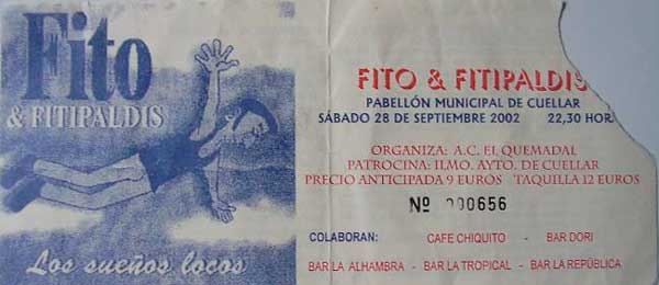 Entrada-Fito-y-Fitipaldis-año-2002-09-28-Pabellon-Municipal-de-Cuellar