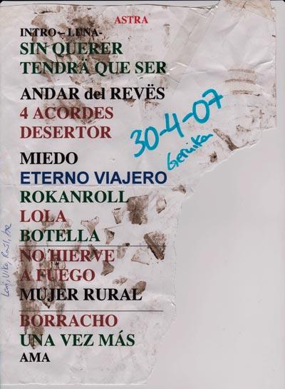 Inconscientes-set-list-concierto-en-Astra-Gernika-año-2007-04-30