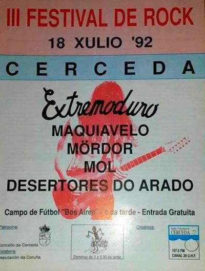cartel-extremoduro_1992_07_18-III-festival-rock-cerceda-a-coruña