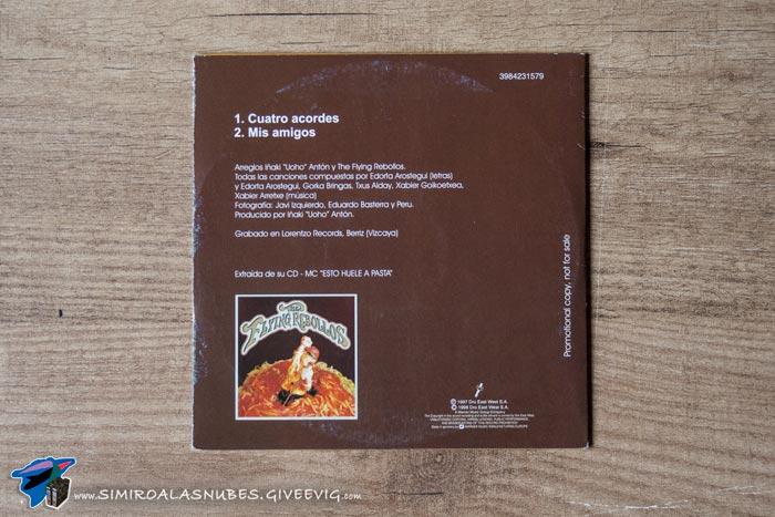 Single-Cuatro-Acordes-Flying-Rebollos-1998-trasera