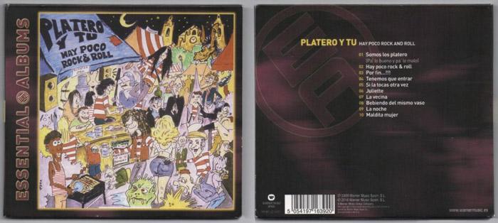 Digipack Essential Album de 'Hay Poco R&R' (2008)