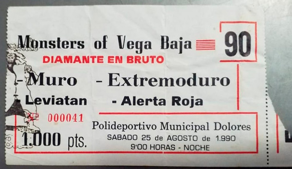 entrada-extremoduro-monsters-of-vega-baja-25agosto1990