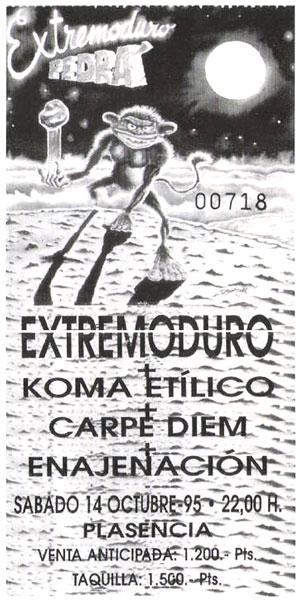 extremoduro-entrada-plasencia-1995-10-14