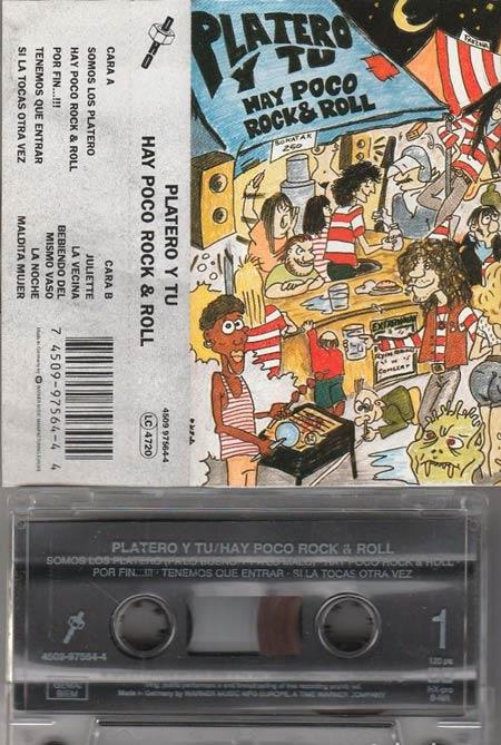 Foto de la cinta de Platero y Tú 'Hay Poco R&R' (1994)