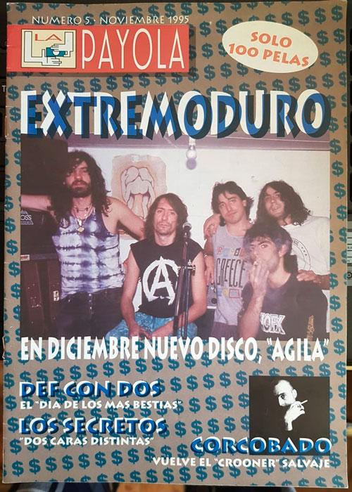 extremoduro-portada-payola-numero5-noviembre1995