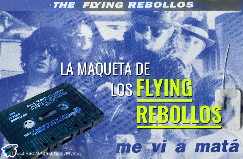 Maqueta 'Me Vi A Matá' de los Flying Rebollos grabada en 1991